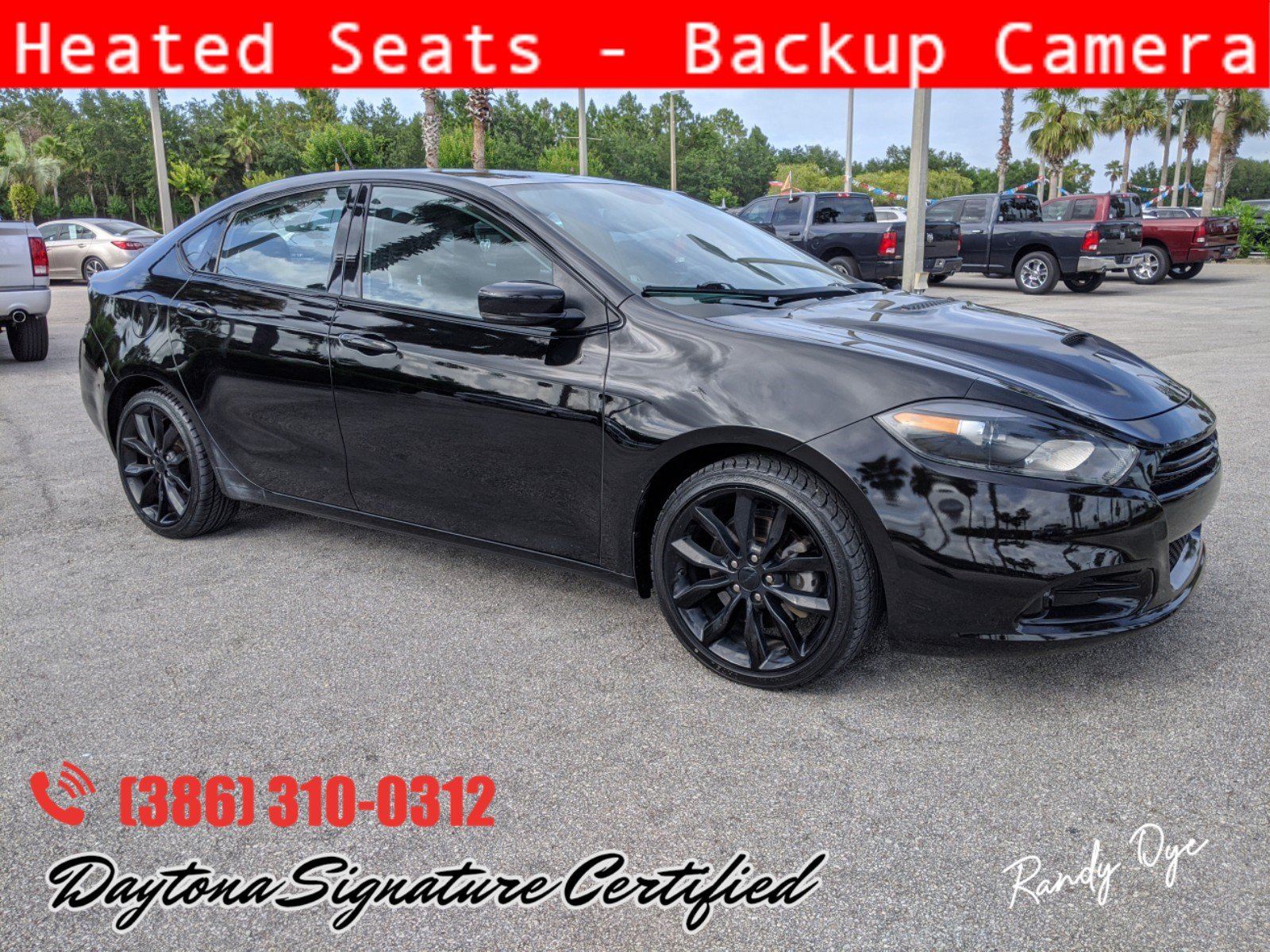 Pre-Owned 2016 Dodge Dart GT Sport Blacktop