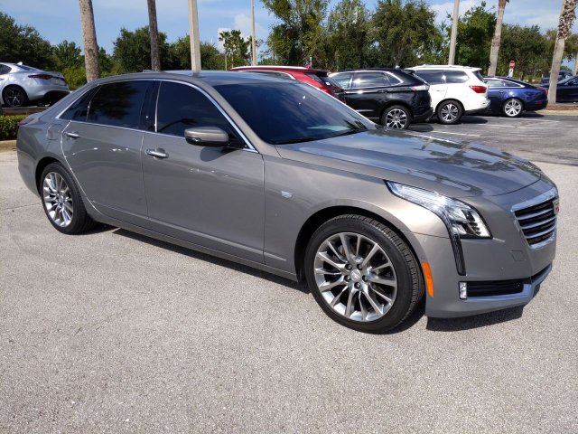 Pre-Owned 2018 Cadillac CT6 Luxury AWD