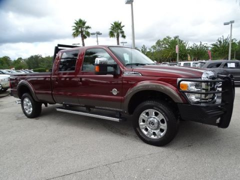PRE-OWNED 2016 FORD SUPER DUTY F-350 SRW LARIAT 4WD