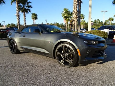 PRE-OWNED 2017 CHEVROLET CAMARO LT RWD CONVERTIBLE