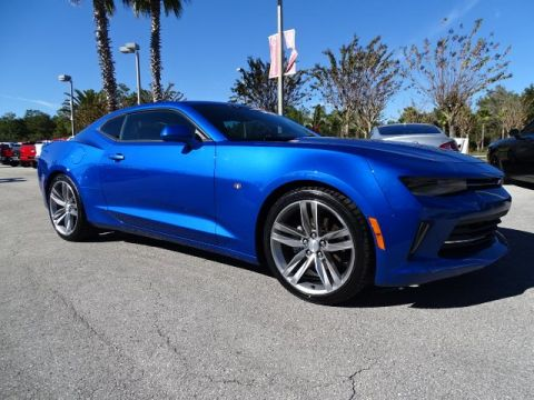 PRE-OWNED 2017 CHEVROLET CAMARO LT RWD 2DR CAR